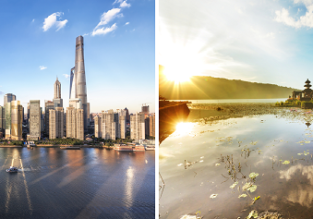 2 in 1: Salt Lake City to both Shanghai and Bali in one trip for only $443!