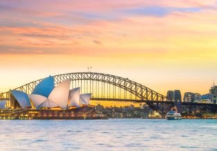 HOT! Cheap flights from many US cities to Australia from only $445!