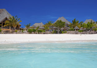 Zanzibar beach getaway! 9-night stay at top rated beach hotel + flights from London for only £453!