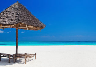 Zanzibar getaway! 7-night stay in top rated beach hotel + flights from Brussels for €407!