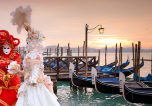 Enjoy the famous Venice Carnival with flights from London and 4 nights in well-rated B&B for only £84.50!