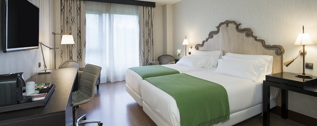 Superior room at top rated 5* luxury hotel in Aviles, Spain for only €67! (€34/ $39 per person)
