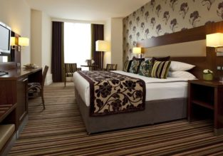 CRAZY HOT! Deluxe double room at excellent 4* hotel in Liege, Belgium for €8! (€4/ $5 per person)