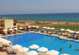 Studio at 4* beach resort in Ayia Napa, Cyprus for only €15! (€7.50/ $9 per person)