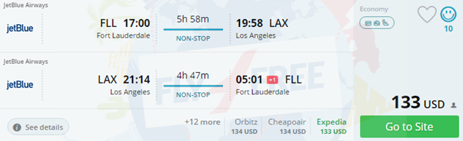 Best flight deals to florida 2018