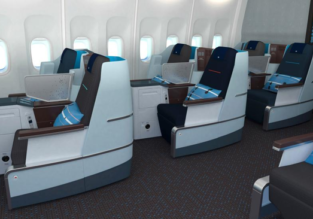 XMAS & NEW YEAR: Business Class from Poland, Hungary & Ukraine to Chengdu, China from only €881!