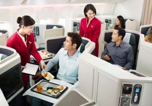 ERROR FARE: Xmas and NYE 5* Cathay Pacific Business Class flights from Delhi to Beijing for $573!