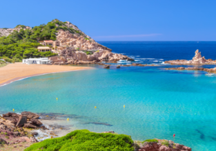 JULY! 7-night stay at beachfront aparthotel in Menorca + flights from London for only £181!