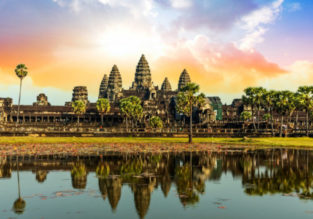 Discover Angkor Wat! 3-night B&B stay in top-rated 4* hotel in Siem Reap + flights from Kuala Lumpur for $72!