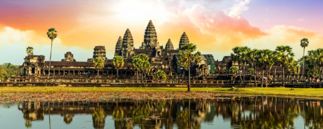 Discover Angkor Wat! 7-night B&B stay in 5* hotel & spa in Siem Reap + flights from Amsterdam and transfers for €509!