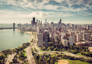 Non-stop flights from Budapest to Chicago for only €368!