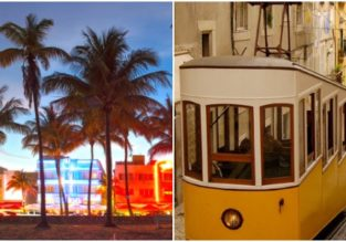 Lisbon and Miami in one trip from Oslo from only €273! Summer from €293!