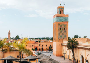 MAY: 7-night stay at well-rated 4* riad in Marrakech + cheap flights from Rome for only €124!