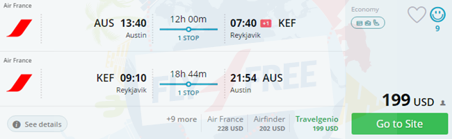 Error Fare Cheap Flights From Numerous Us Cities To