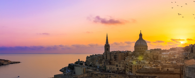 Cheap flights from Germany to Malta from only €19!