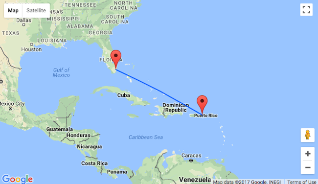 Cheap flights from Miami to US Virgin Islands for only 150