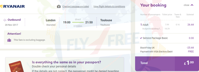 Hot almost free flights with budgetair 30 coupon code london stansted barcelona fandeluxe Images
