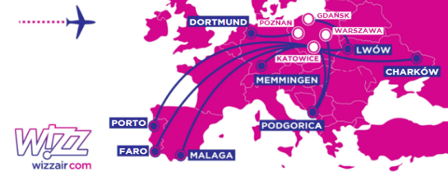 Wizz Air: 12 new routes from Ukraine and Poland!