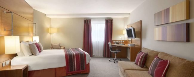 Executive room at 4* Ramada Plaza Wrexham, UK for only €19! (€9.50/ $11 per person)