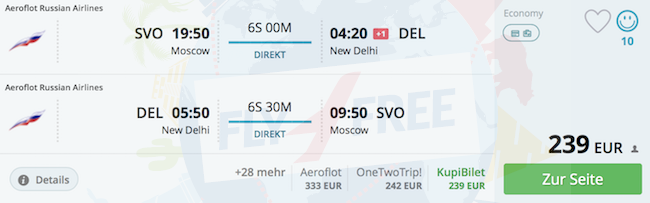 Aeroflot SALE: Non-stop flights from Moscow to USA or Asia from only ...