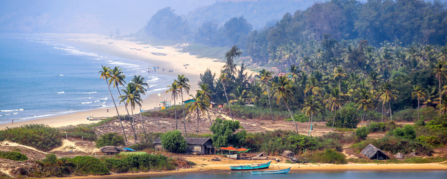 Cheap flights from Spain to Goa, India for only €387!