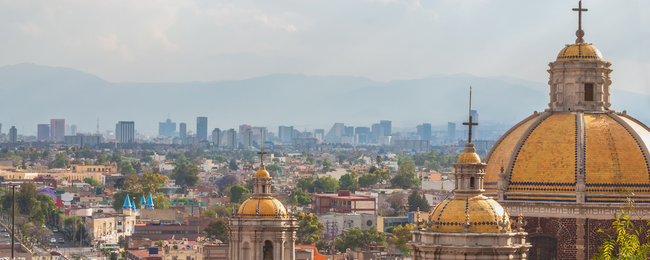Cheap flights from Spain to Mexico City from only €318!