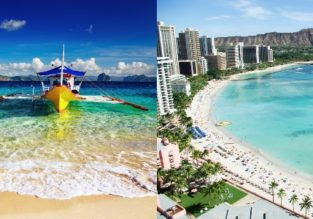 Philippines and Hawaii in one trip from Hong Kong for $450!