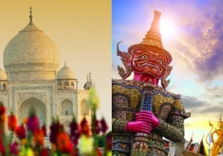 Xmas and peak season! Thailand and India in one trip from Stockholm for €453!