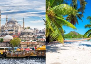 Istanbul and Seychelles in one trip from London from only £360!