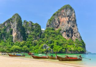 7-night stay at well-rated hotel in Krabi + cheap flights from Singapore for just $172!