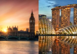 CHEAP! Non-stop from London to Singapore and vice-versa from only £236/$329!