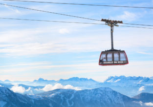 Winter break on the Mont Blanc! 5-night stay at 4* hotel + cheap flights from Manchester for just £140!