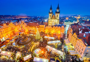 X-mas and New Year! Cheap flights from Beijing to Prague for only $446!