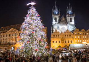 City break in Prague! 4-night stay at well-rated 4* hotel + flights from London for only £117!