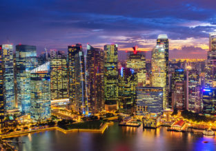 Turkish Airlines: cheap flights from Amsterdam to Singapore for just €407!