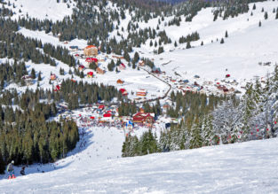 Long weekend in Romania's ski area! 4-night stay + car hire + cheap flights from Denmark for just €74!