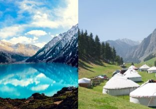 SUMMER: Kazakhstan and West China in one trip from Amsterdam from only €360!