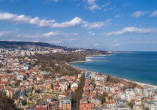 Cheap flights from Brussels to Varna (Black Sea) and vice versa from only €19!