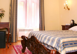 X-mas! B&B stay at top rated 4* boutique hotel in Prague for only €33! (€16.5/ $20 per person)
