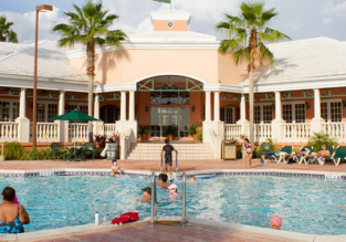 Room with 2 queen beds at top rated 4* resort in Orlando for only €48! (€24/ $28 per person)