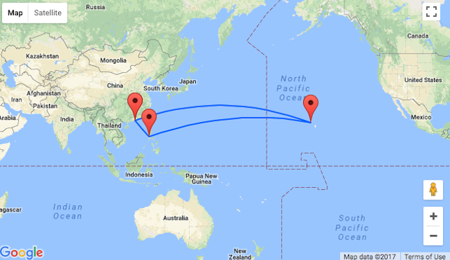 Summer hong kong to philippines hawaii in one trip for 474 how to book click here or just follow the links below and adjust travel dates gumiabroncs Choice Image