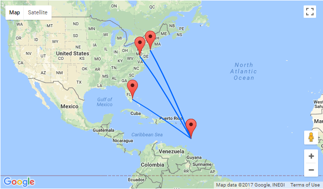 East Coast USA to exotic Barbados from only $75 one-way or ...