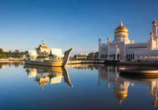 Cheap non-stop flights from Dubai to Brunei for only $327!
