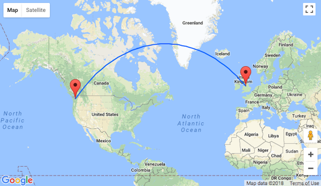 Non-stop flights from Seattle to Manchester, UK for $446!