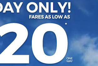 Frontier FLASH SALE: Flights across the USA from just $20 one-way!