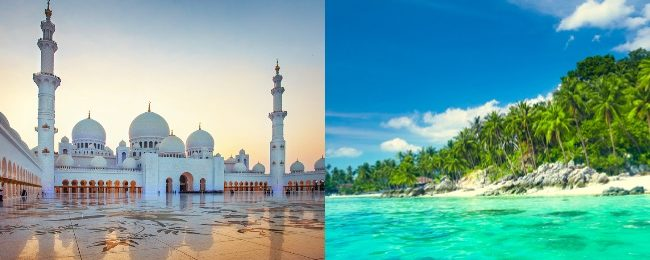 5* Etihad: Flights from Zurich to Abu Dhabi and Phuket, returning from one of many destinations in Southeast Asia from €420!