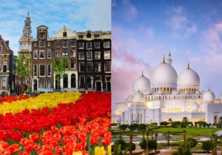5* Etihad: Amsterdam and Abu Dhabi in one trip from Hong Kong for only $459!