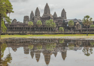Discover Angkor Wat! 4-night stay at well-rated 4* hotel in Siem Reap + flights from Kuala Lumpur for just $88!