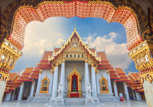 4* Thai Airways: non-stop flights from Paris to Bangkok, Thailand for €454!