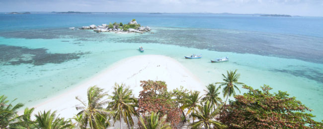Cheap flights from Jakarta to the exotic Banga – Belitung Islands from only $42 incl. checked bag!